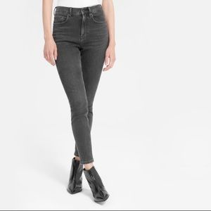 Everlane Gray High Rise Skinny Stretch Jeans